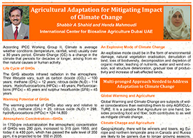 Agricultural Adaptation for Mitigating Impact of Climate Change