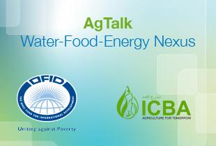 محادثات زراعية: الترابط بين المياه والغذاء والطاقة