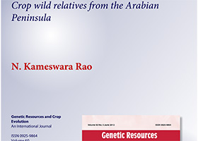 Crop wild relatives from the Arabian Peninsula