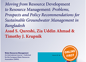 Moving from Resource Development to Resource Management: Problems, Prospects and Policy Recommendations for Sustainable Groundwater Management in Bangladesh