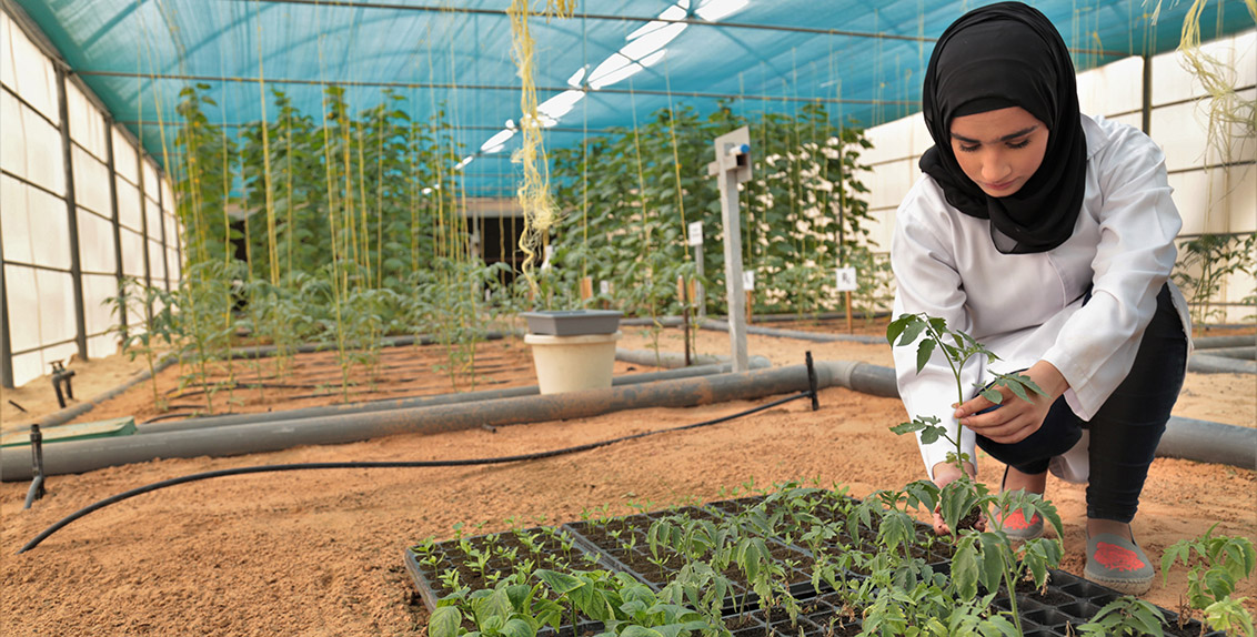 Through our capacity-building programs, we want to enable young people to become agents of change and contribute to sustainable agriculture and food production and environmental protection in marginal environments.