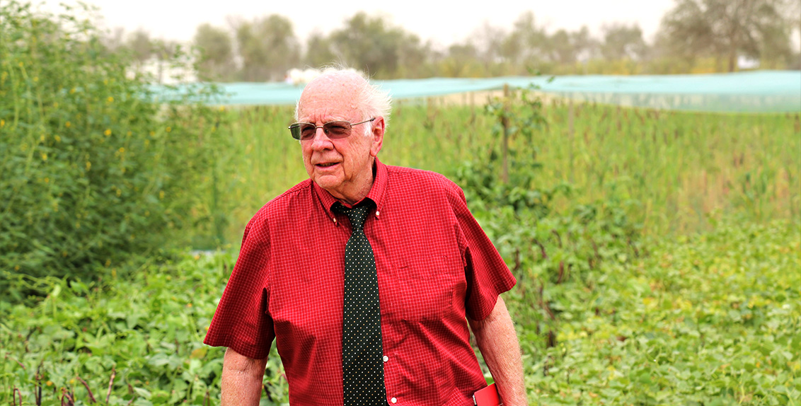 Dr. Merle Jensen is the founder of the Controlled Environment Agriculture Center (CEAC) and Professor Emeritus of Plant Life Sciences at the University of Arizona, USA. He has worked in the field for over four decades and has supported agricultural programs in over 60 countries around the world.