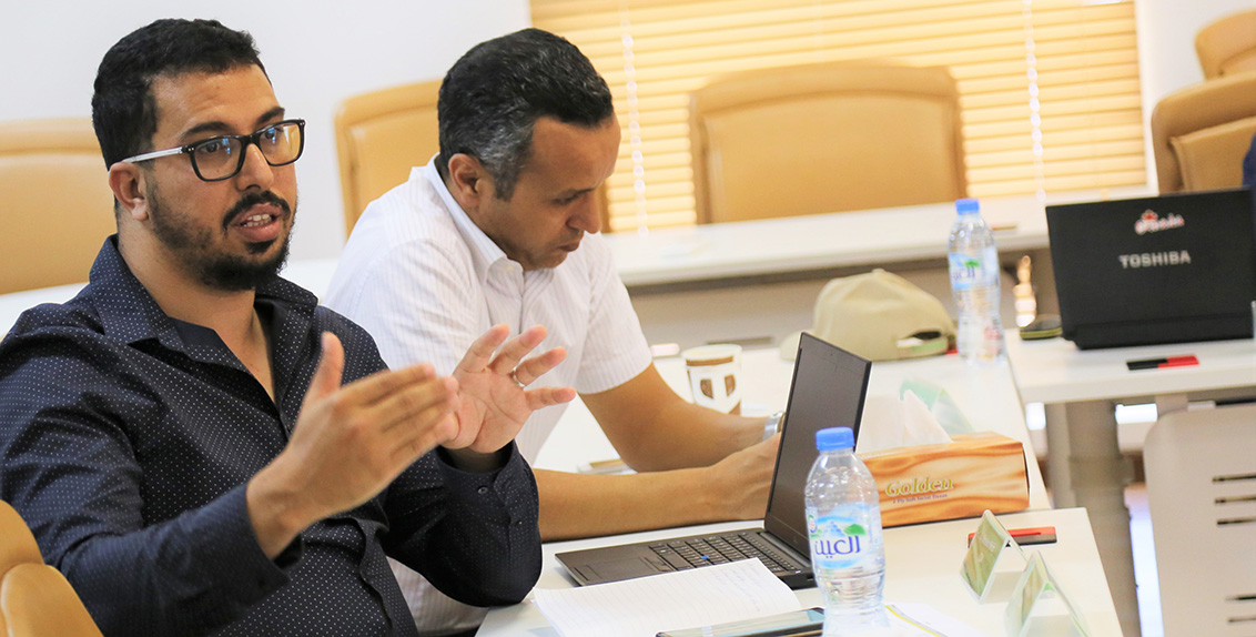 The project began with an inception meeting for project partners at ICBA's headquarters in Dubai on 24-25 April 2019. Over 30 participants, including directors and technical staff of the national agricultural research centers from the partner countries, attended the inception meeting.