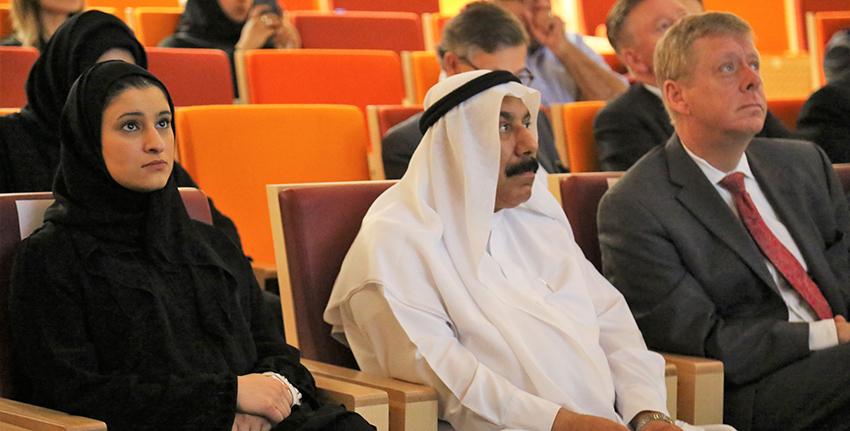 حضرت هذه الفعالية، معالي سارة بنت يوسف الأميري، وزيرة دولة للعلوم.