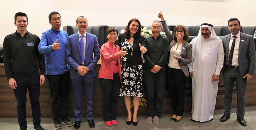 وخلال هذه الفعالية، اتفقت المنظمة العالمية للمجينات وإكبا على تعزيز التعاون في مجال المجينات.
