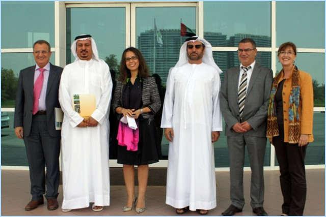 Delegation from the National Research Foundation visits ICBA