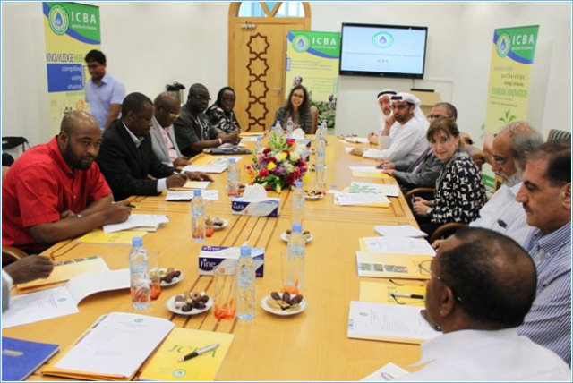 Delegation from the National Assembly of Nigeria Visits ICBA