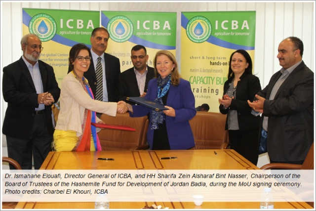 ICBA signs an MoU with the Hashemite Fund for Development of Jordan Badia