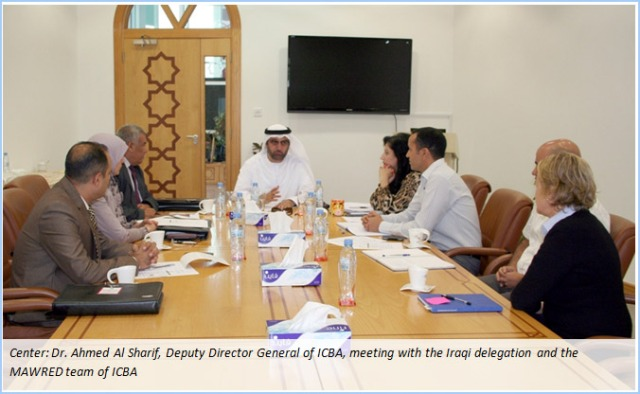 Iraqi Delegation from the Ministries of Water Resources and Agriculture Visits ICBA