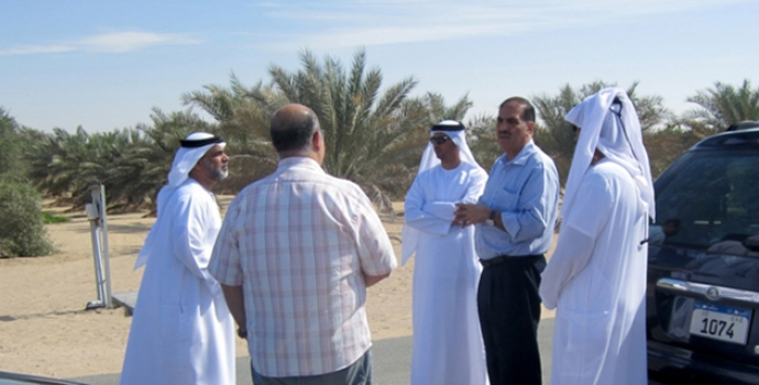 Abu Dhabi Farmers Service Center Discusses Further Collaboration with ICBA