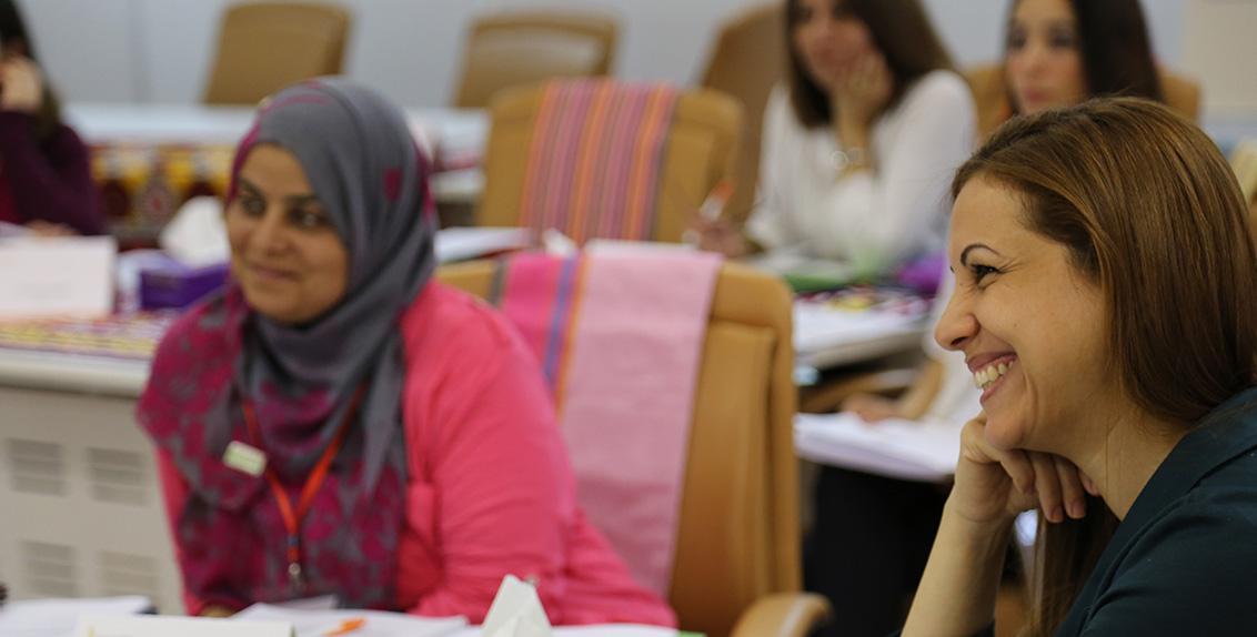 """في عشية اليوم العالمي للمرأة، يطلق كلا من المركز الدولي للزراعة الملحية (إكبا)، ومؤسسة بيل ومليندا غيتس والبنك الإسلامي للتنمية و برنامج أبحاث القمح للمجموعة الاستشارية للبحوث الزراعية الدولية ، افتتاح الانطلاقة الأولى لزمالة القياديات العربيات في الزراعة """"أوْلى"""" في منطقة الشرق الأوسط وشمال أفريقيا."""