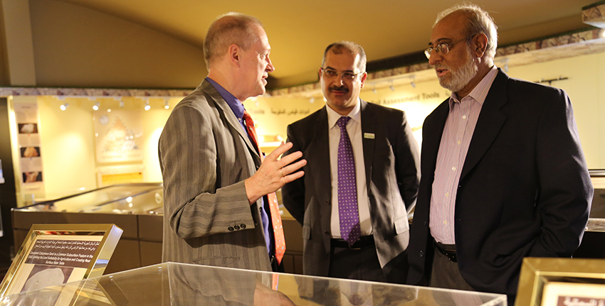 The Belgian delegation toured the Emirates Soil Museum, which is a unique facility in the Gulf region