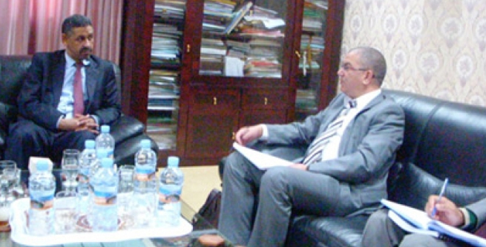 ICBA Delegation in Mauritania (Discussions For Upcoming National Soil Mapping Project)