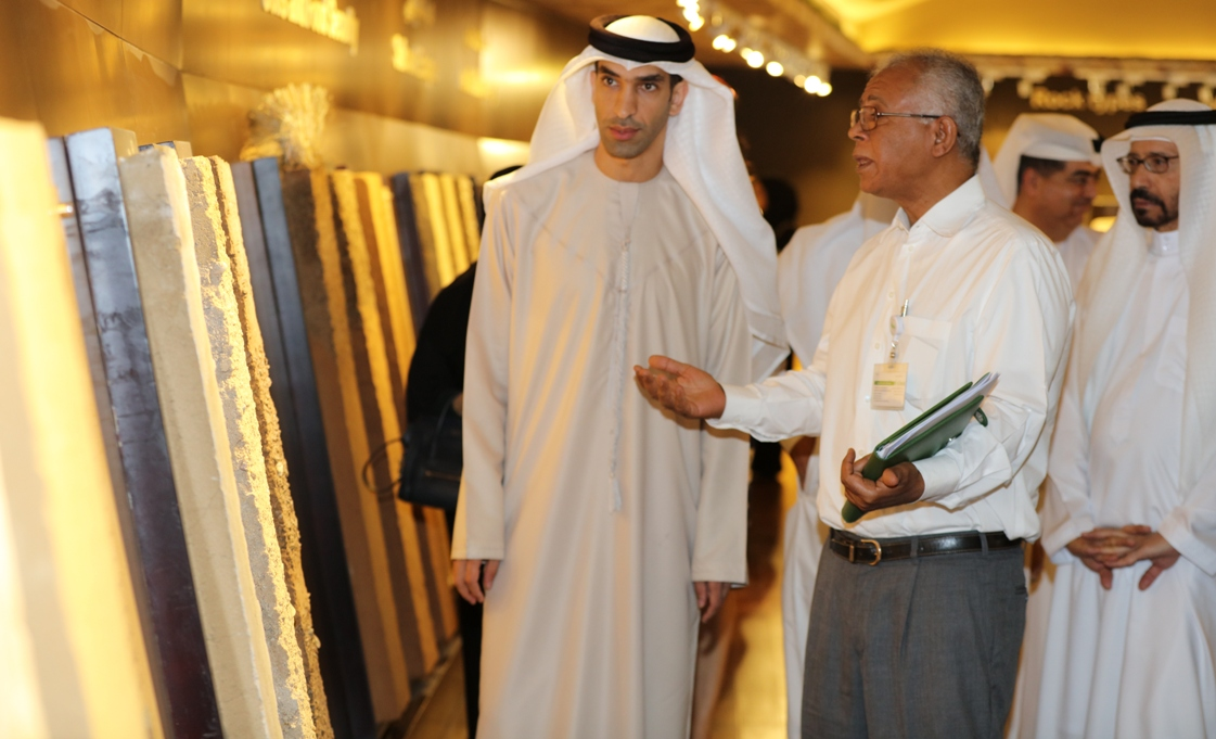 UAE Minister of Climate Change and Environment Visits International Center for Biosaline Agriculture