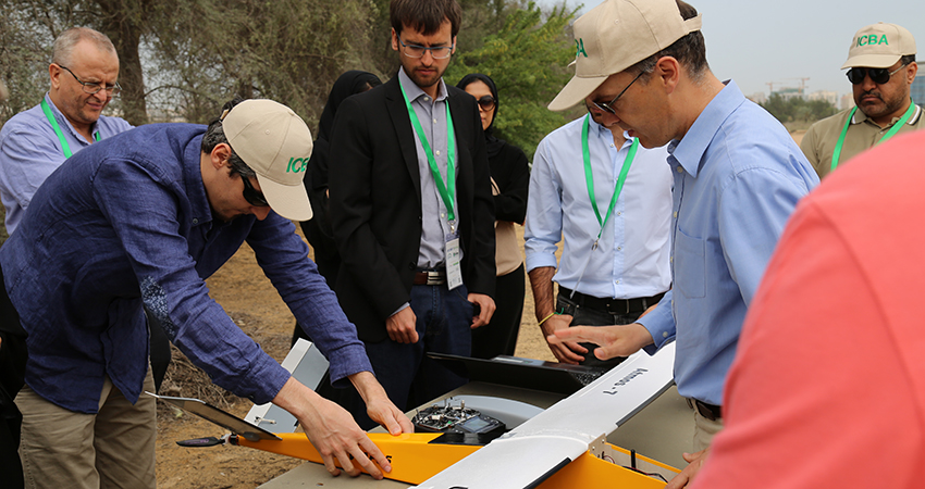 ICBA hosts first-of-its-kind drone training in Gulf region for remote sensing