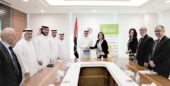 ICBA, FEWA ink agreement on technical and training cooperation