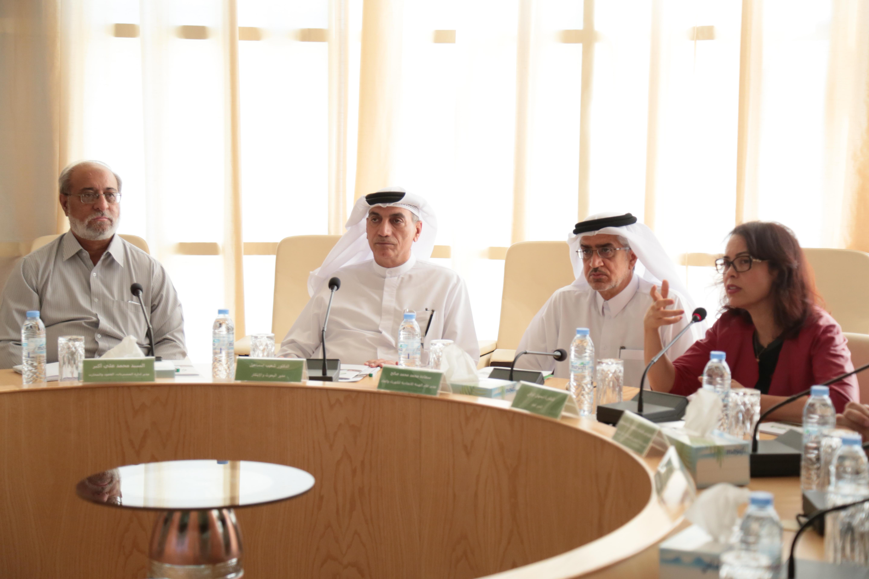 FEWA delegation visits International Center for Biosaline Agriculture to talk collaboration