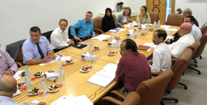 Environment Agency – Abu Dhabi Delegation Discusses Collaboration Opportunities during their Visit to ICBA