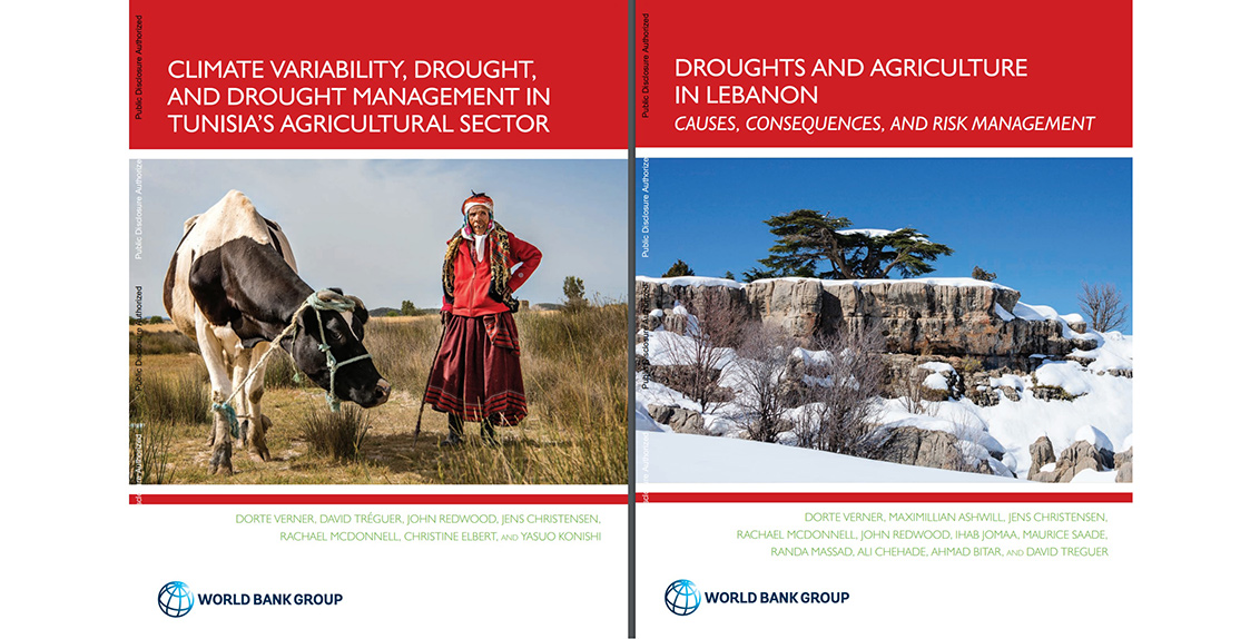 Two recently published research reports by the World Bank concerning climate change in the Middle East and North Africa (MENA) region underscore the growing problem of drought in Lebanon and Tunisia.