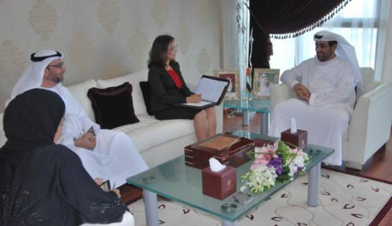 Dr Elouafi visits the Ministry of Environment and Water