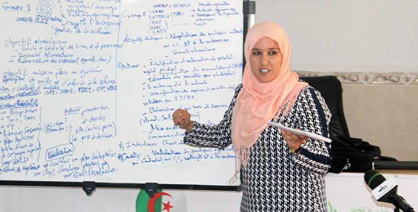 During the training course, participants heard lectures and engaged in practical sessions.
