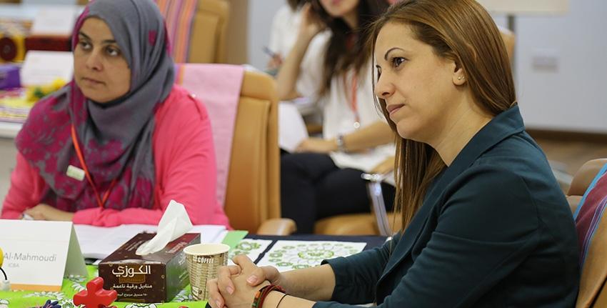 وكجزء من مبادراته في مجال تنمية القدرات، يتعاون إكبا مع شركاء مختلفين لتمكين النساء الباحثات في العالم العربي ليصبحن قائدات المستقبل في مجال العلوم. وضمن إطار برنامجه الرائد المسمى (تمكين) نظم المركز دورة تدريبية تجريبية في شهر أبريل ۲۰۱۷ لمجموعة من الباحثات من الجزائر ومصر والأردن ولبنان والمغرب وعمان وفلسطين.