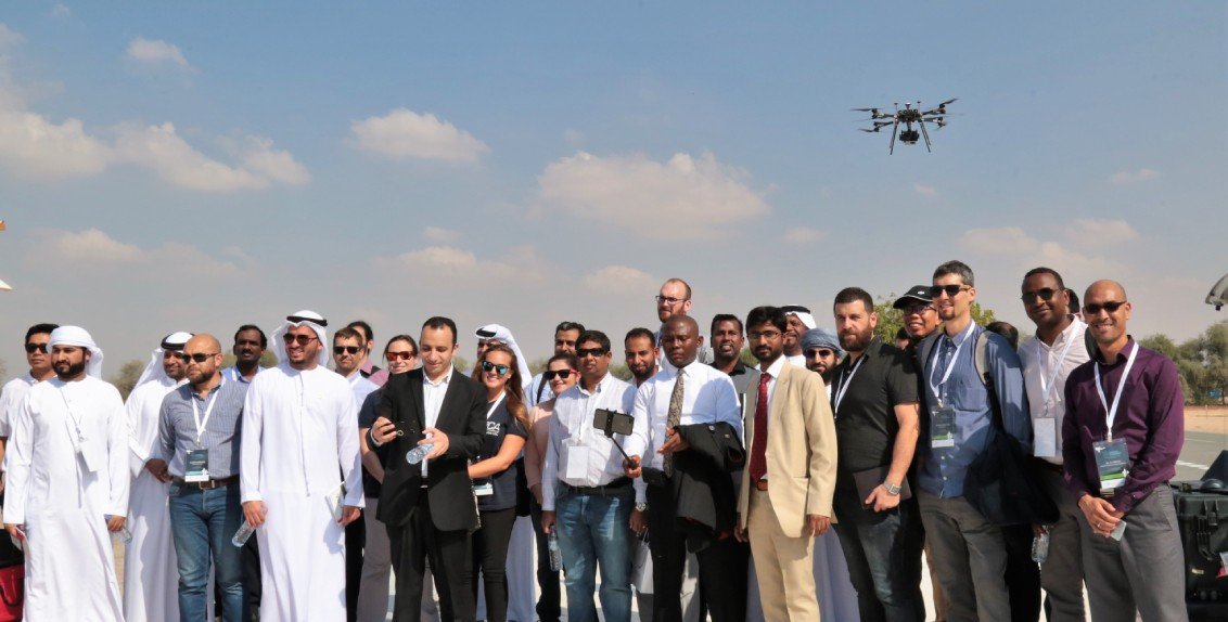 The event was jointly organized by the Zayed University, the International Center for Biosaline Agriculture (ICBA) and the Falcon Eye Drones (FEDS).