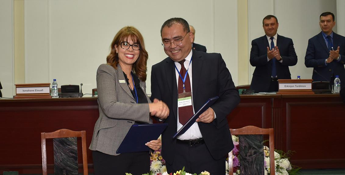 وقد جرى التوصل إلى هذا الاتفاق خلال منتدى دولي انعقد على مدى ثلاثة أيام في سمرقند حول النـُهج الابتكارية لتحفيز الحوكمة المستدامة والاستقرار الاجتماعي في حوض بحر آرال.