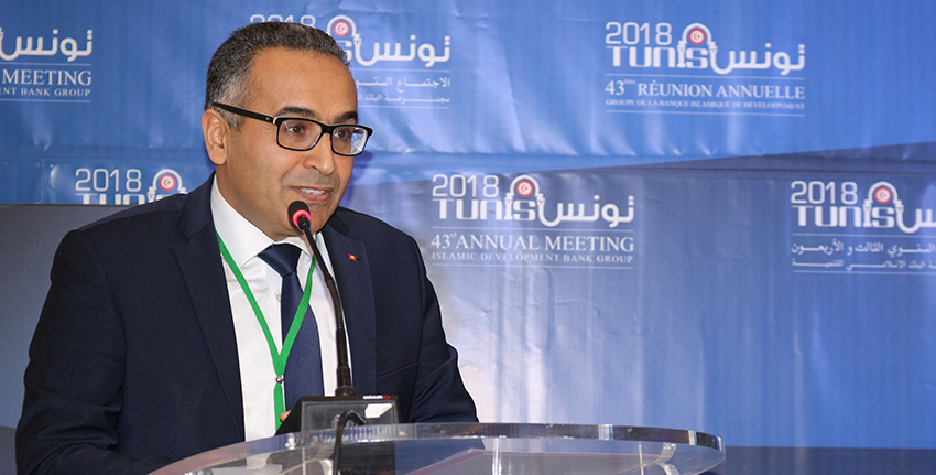 H.E. Khalil Amiri, Secretary of State for Scientific Research at the Ministry of Higher Education and Scientific Research of Tunisia, gave an opening speech at the event.