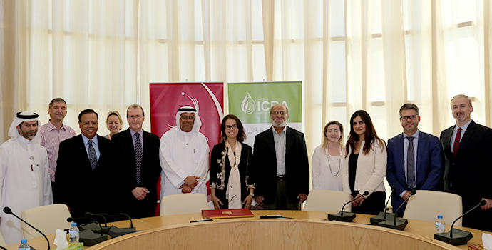 ICBA, Zayed University sign agreement on research and training cooperation
