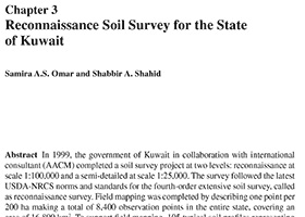 Reconnaissance Soil Survey for the State of Kuwait
