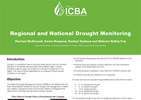 Regional and National Drought Monitoring