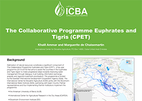 The Collaborative Programme Euphrates and Tigris (CPET)