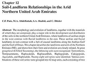 Soil-Landform Relationships in the Arid Northern United Arab Emirates