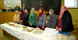 Women participants at the course learnt several recipes of quinoa dishes and were given packs of quinoa to take home.