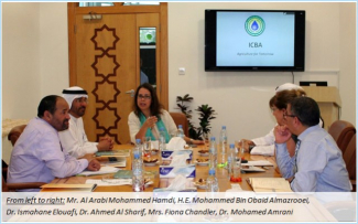 Enhancing Collaboration between the Arab Authority for Agricultural Investment and Development and the International Center for Biosaline Agriculture