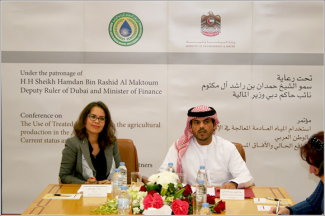 Under the Patronage of Sheikh Hamdan – Conference on the Use of Treated Wastewater in the Agricultural Production in the Arab World