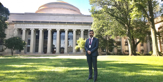 Mr. Showkat Nabi Rather, Journalism and Media Outreach Specialist at the International Center for Biosaline Agriculture (ICBA), has recently won a scholarship to do a program in persuasive communication for technology professionals at the Massachusetts Institute of Technology (MIT) in Cambridge, USA.