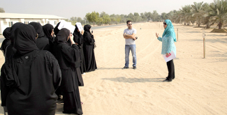 Young Emirati women students keen to contribute to UAE's agricultural sector