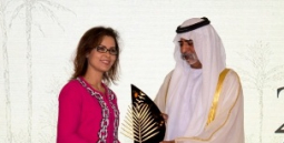 ICBA receives prestigious international date palm award