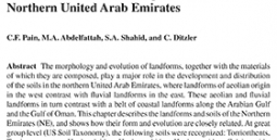 Soil-Landform Relationships in the Arid Northern United Arab Emirates