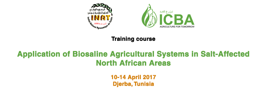 Application of Biosaline Agricultural Systems in Salt-Affected North African Areas