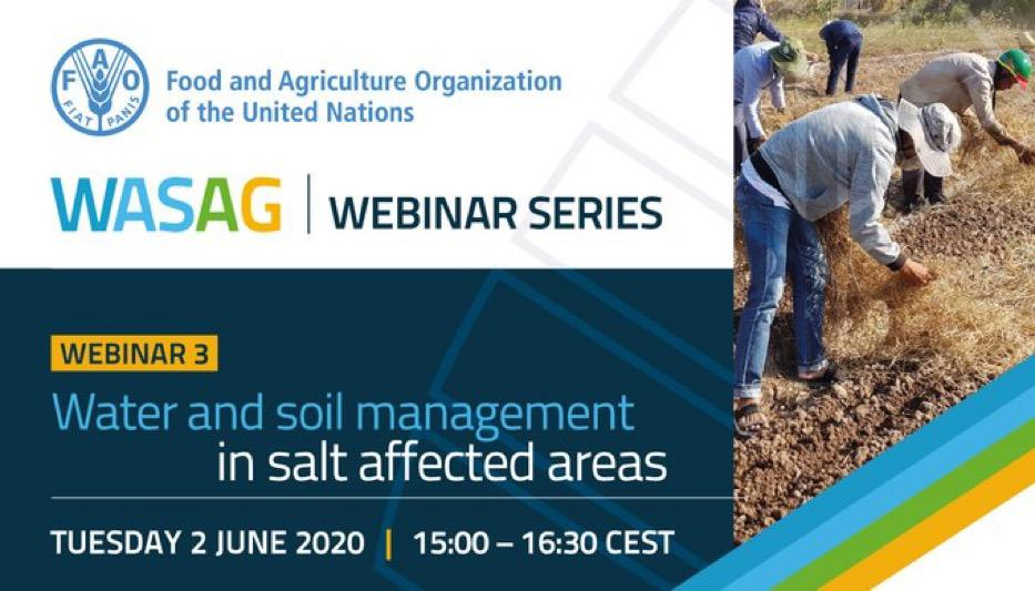 Water and Soil Management in salt affected areas: practical solutions and tools