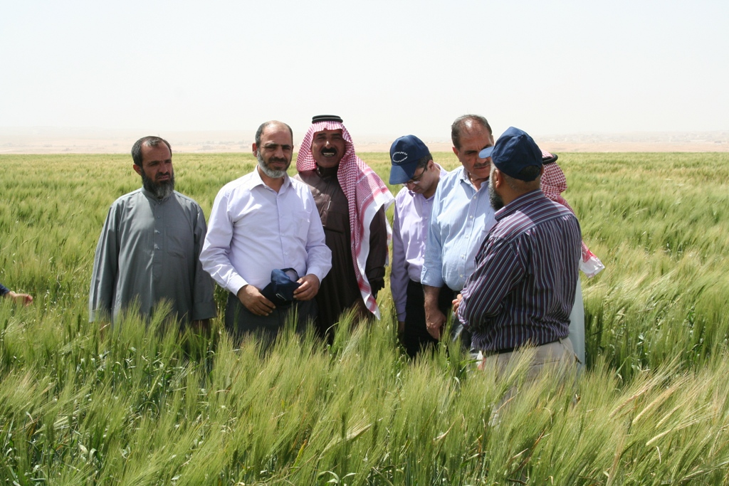 Regional workshop and annual meeting of climate change project in Jordan